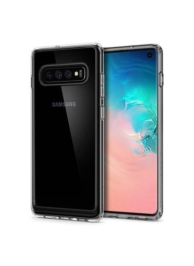 Spigen Galaxy S10 Kılıf, Crystal Hybrid Renkli